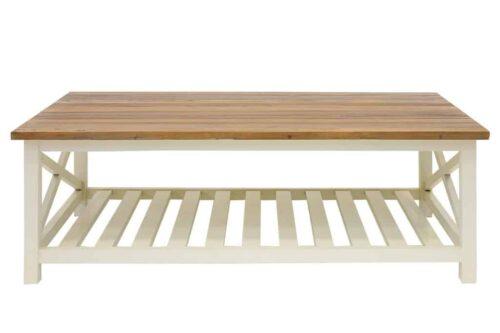 שולחן סלון מעץ כפרי
