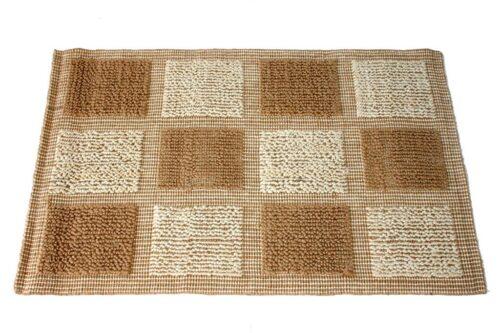 שטיח חבלים משובץ