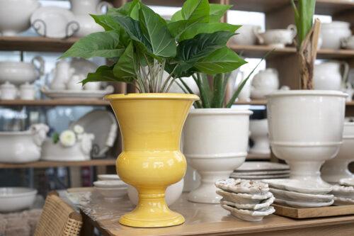 גביע לפרחים מקרמיקה