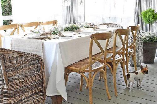 כסאות אוכל מעץ