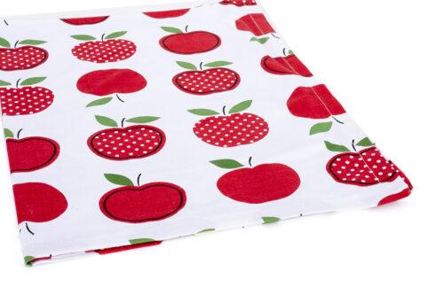 מגבת תפוחים אדומים