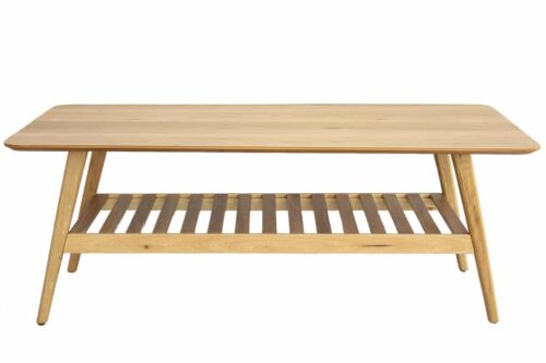 שולחן סלון רטרו מעץ