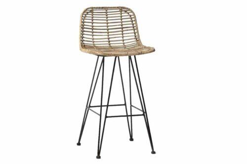 כסאות בר גבוהים ראטן