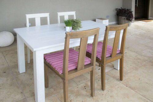 כסאות פינת אוכל מעץ