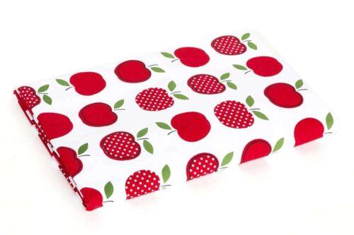 מפה תפוחים אדומים לשולחן