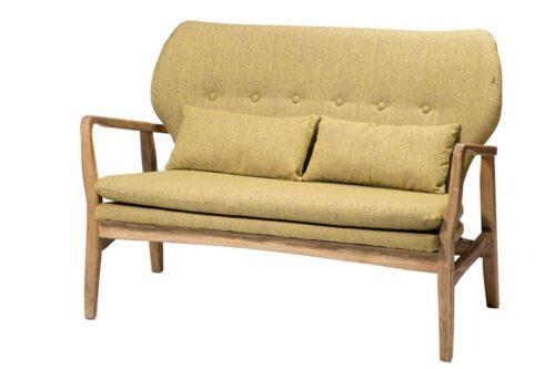 ספה זוגית חרדל