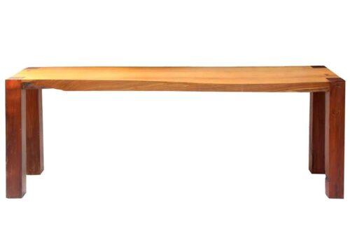 שולחן ארוך וצר מעץ מלא