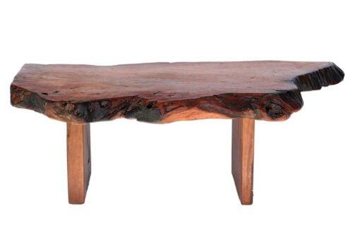 שולחן סלון מעץ טבעי