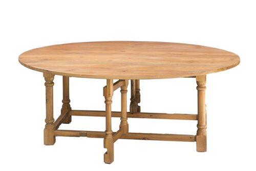 שולחן סלון אליפטי במבצע