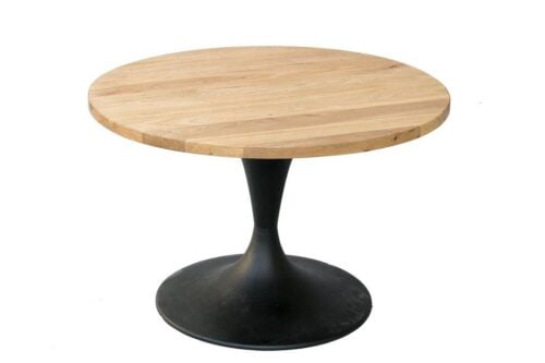 שולחן עגול מעוצב לסלון