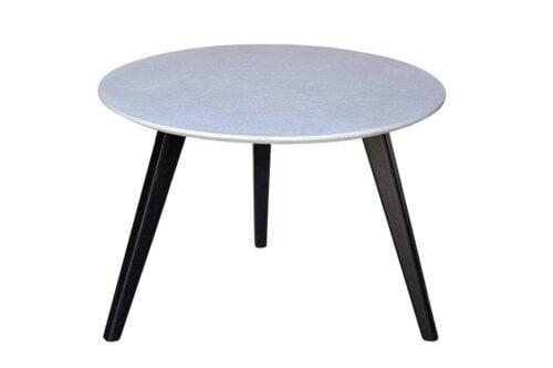 שולחן קפה דמוי בטון עגול