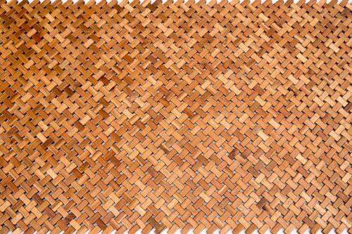 שטיח עץ אלכסונים מעוצב