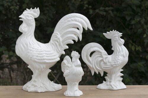 תרנגולים מקרמיקה