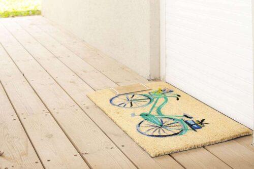 שטיח אופניים לכניסה