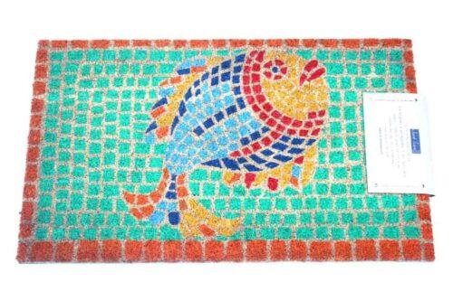 שטיח כניסה דג פסיפס