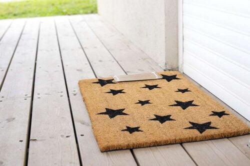 שטיח כוכבים קלאסי לכניסה