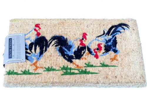 שטיח סף עבה תרנגולים