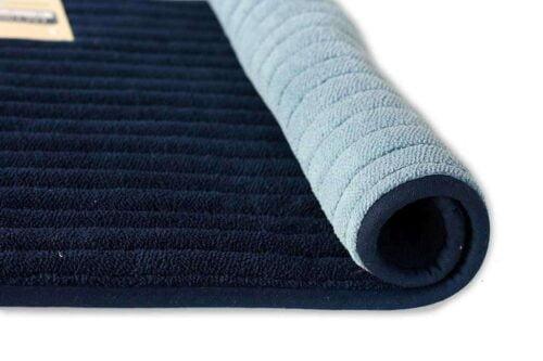 שטיח אמבט דו צדדי כחול