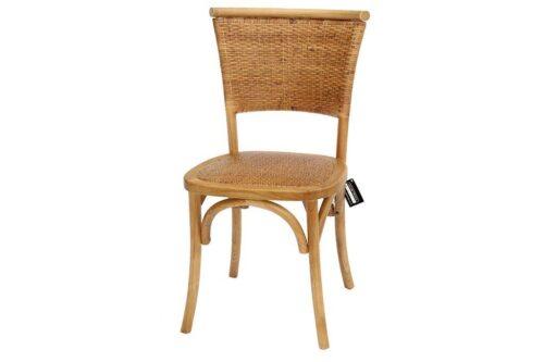 כסא אוכל נוח מעץ