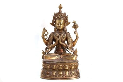 בודהה נחושת מקורית