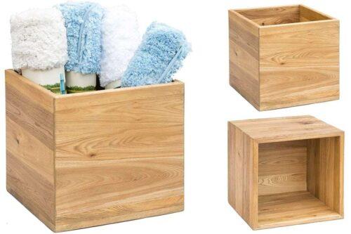 קופסאות עץ מלא