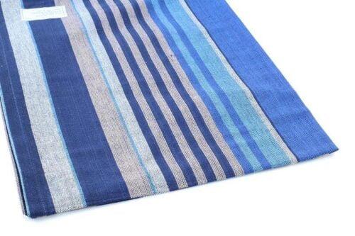מגבת פסים כחולים