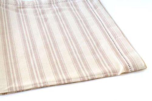 מגבת פסים מוקה למטבח