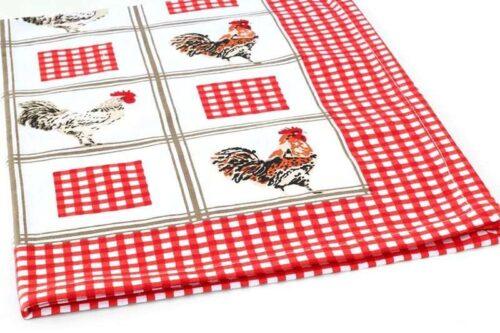 מגבת מעוצבת תרנגול