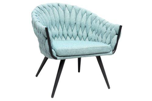 כורסא טורקיז בעיצוב מודרני