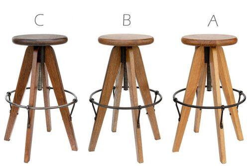 כסאות בר מתכווננים
