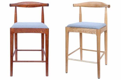 כסאות בר מעץ מלא