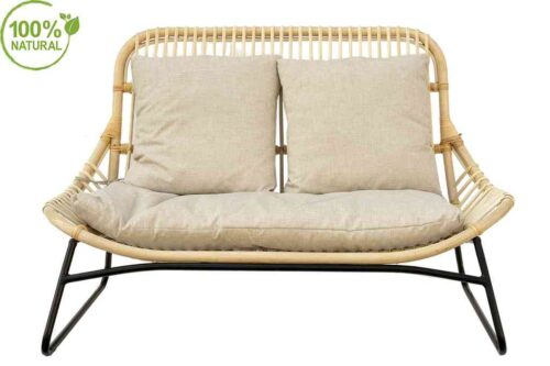 כורסא זוגית מבמבוק
