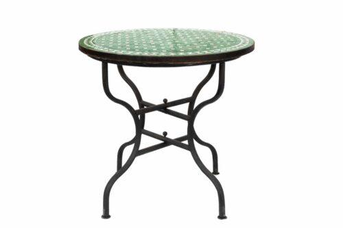 שולחן פסיפס ירוק