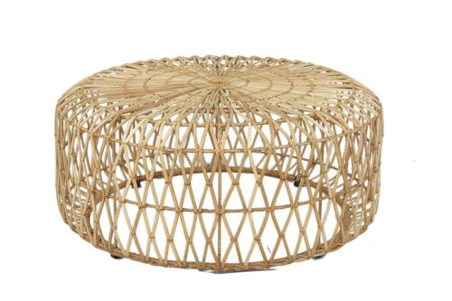 שולחן במבוק עגול לסלון