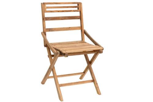 כסאות מתקפלים מעץ
