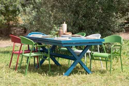 כסאות אלומיניום לגינה