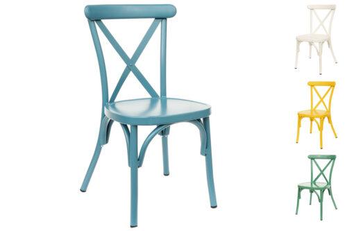 כסאות קרוס צבעוניים