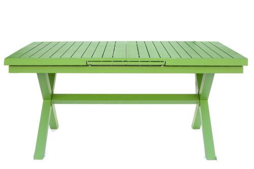 שולחן גינה נפתח ירוק