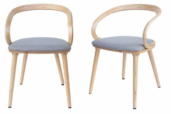 כסאות בסגנון מינימליסטי מעץ