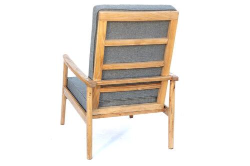 כורסא נורדית מעץ