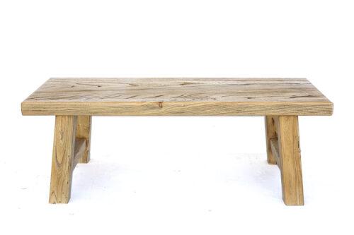 שולחן מעץ גושני