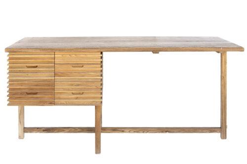 שולחן דו צדדי מעץ
